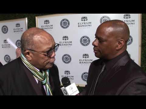"""Quincy Jones interview at the Art of Elysium """"Heaven Gala 2017"""""""