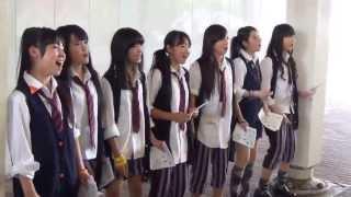 2013.6.22.@中目黒駅前歩道 ラスト松茸の頭がウザイですがw.