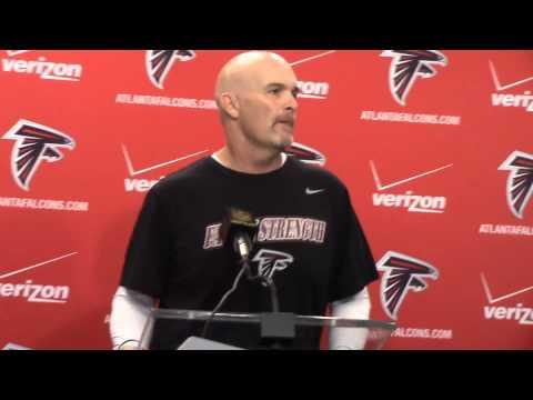 Atlanta Falcons Dan Quinn announces signing of Rex Grossman