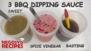 3 RECIPE BBQ DIPPING SAUCE (SWEET, SPICE VINEGAR & BASTING SAUCE)   BBQ BUSINESS PART 1