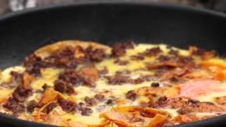 Easy Chorizo (Spicy Spanish Sausage) Omlette