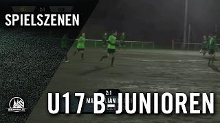 SV Rheidt - Horremer SV (U17 B-Junioren, 1. Kreisklasse, Qualifikation, Staffel 9, Kreis Rhein-Erft)