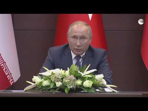 На встрече в Анкаре Путин процитировал суру из Корана