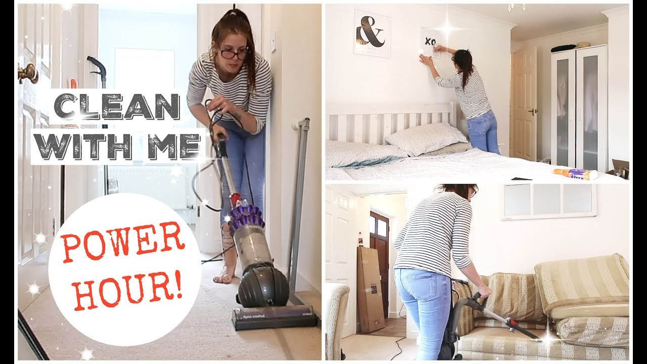 cleaning new house