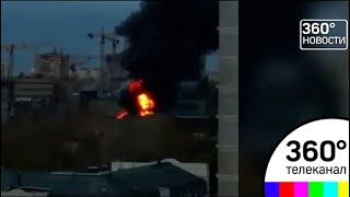"""В Москве горит """"Серп и Молот"""""""