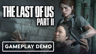 8 Minutes of The Last of Us Part 2 Gameplay | State of Play