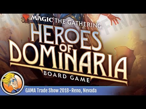 The Gathering Englisch Heroes of Dominaria Board Game Premium Edition Magic