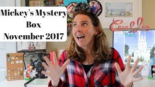 NEW Mickey's Mystery Box NOVEMBER  2017 DISNEY Subscription Unboxing thumbnail