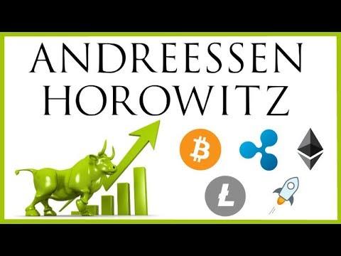 Andreessen Horowitz Crypto Fund Raises $300 Million! - BULLISH NEWS! HODL!