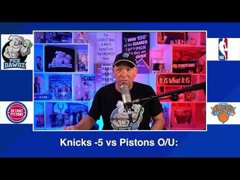 New York Knicks vs Detroit Pistons 3/4/21 Free NBA Pick and Prediction NBA Betting Tips