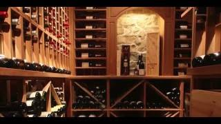 Wine Cellar Design by Papro Consulting, 'Rustic Tuscan Mahogany'
