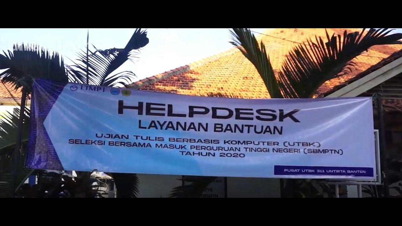Pelaksaan UTBK PTN 311 Untirta Banten