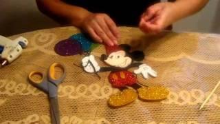 Mickey Centro de mesa para mesa principal