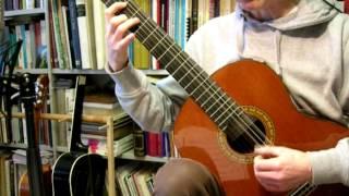 Praetorius  - Courante (guitar)