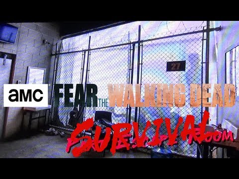 Fear The Walking Dead Survival Attraction in Las Vegas Exclusive Look