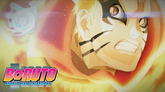 Baryon Naruto vs Isshiki   Boruto: Naruto Next Generations