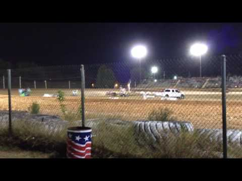 First Night In Mini Sprint At I-30 Speedway.