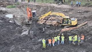 Charity Excavator Pull Challenge Final Success. www.irishwebtv.com Web Television thumbnail