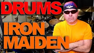 Phantom Of The Opera - IRON MAIDEN - Drums (Live Version)