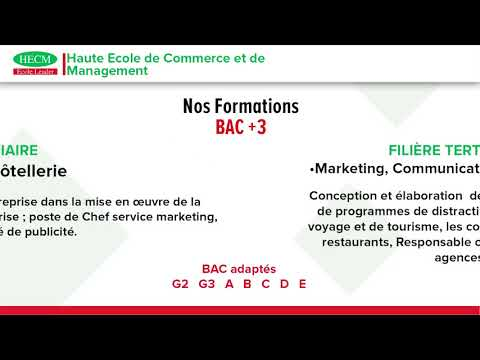 HECM - Nos Formations