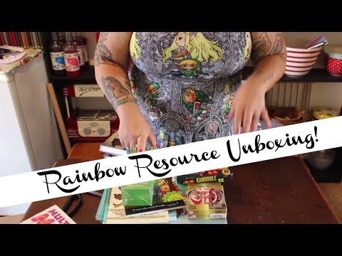 Rainbow Resource Unboxing, 3rd Grade (mostly)