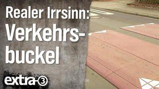Realer Irrsinn: Verkehrsbuckel in Osnabrück