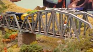 My Train on Noarlunga Model Railroaders Inc. layout Paradigm