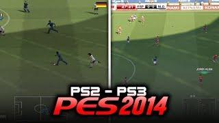 ASÍ FUE PES 2014 EN 2 GENERACIONES (PS2-PS3)