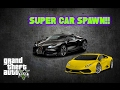 GTA 5 Super Car Spawn Locations Zentorno, Jester, Massacaro(Fully Upgraded GTA 5 Story Mode)