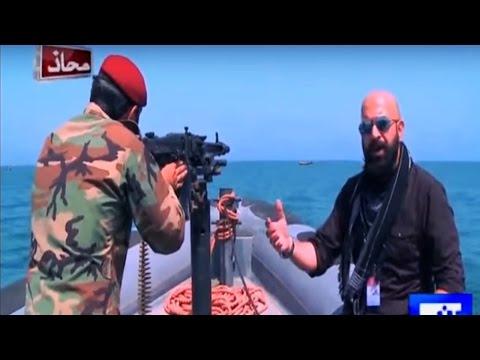 Mahaaz 17 April 2016 - Sensational Episode on Gwadar with Military Troops