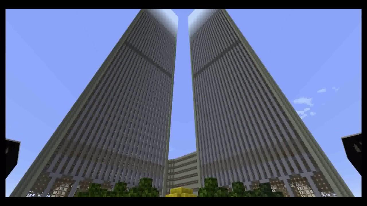 minecraft world trade center wtc download mc 1 9 2016 youtube