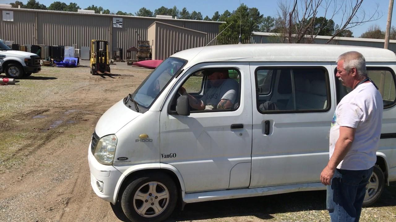 Govdeals Vantage Vango P1000 Miniture Cargo Van