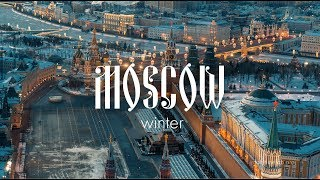 Desperation of winter Moscow \ Russia Drone Video \ Shot on DJI X7 thumbnail