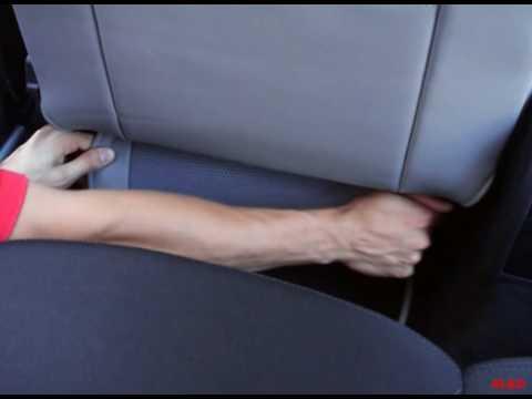 Montage Der Sitzbez 252 Ge F 252 R Den Sitz Des Fahrers Youtube