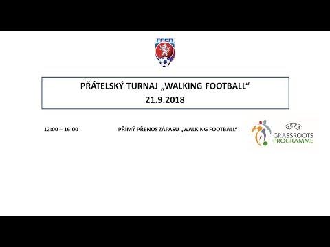 """FAČR - PŘÍMÝ PŘENOS ZÁPASU """"WALKING FOOTBALL"""""""