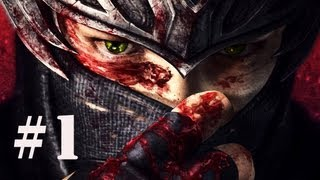 Ninja Gaiden 3 Playthrough - Part 1 (X360/PS3/PC) [HD]