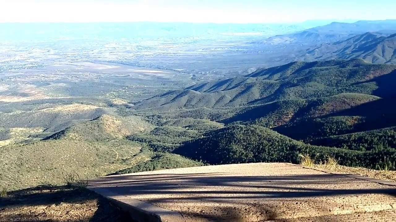 Mingus Mountain AZ 7815 FT Elevation Hang Gliding Launch ...