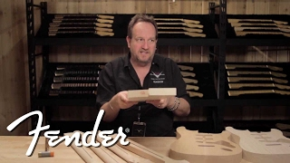 Fender Custom Shop: Neck Wood