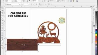 Coreldraw Demo For Scroll Saw Pattern Designers.