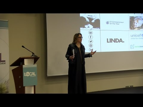 Janneke Niessen Gives Keynote Speech at WE Local Amsterdam 2017