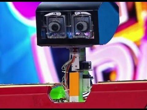 Робот Дживко - натуральный харьковчанин! Robinzon.TV