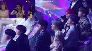BTS REACTION TO (G)I-DLE (CLOSE-UP) Hann + Rap Soyeon + Latata | MMA 2018