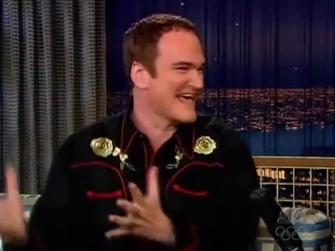 "Quentin Tarantino interview on ""Kill Bill"" on Late Night with Conan O'Brien (2004)"