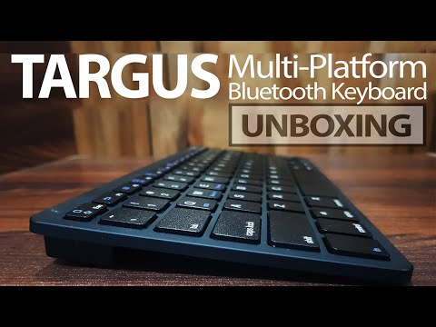 Targus KB55 Multi-Platform Bluetooth Keyboard Unboxing