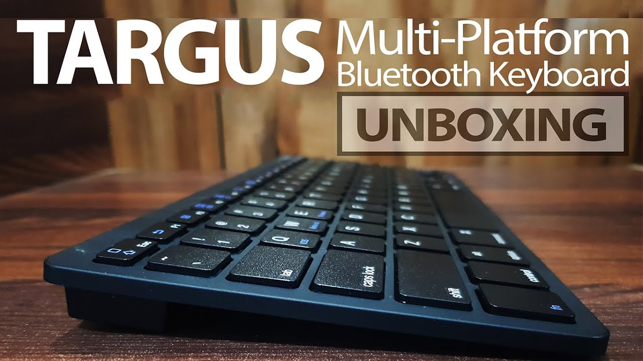 b38a13fde99 Targus KB55 Multi-Platform Bluetooth Keyboard Review | The-Area51.com :  Technology | Smartphones | Reviews