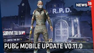 PUBG Mobile Update 0.11.0 | Zombie Mode, Resident Evil 2 Collaboration and More