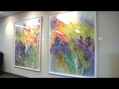 The Pines Long-Term Care Residence receives art donation
