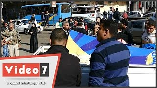 حى العجوزة يشن حملة لرفع الإشغالات من شارع السودان