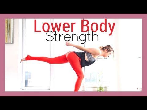 Yoga for Legs & Thighs Workout - 14-Day Challenge FULL CLASS
