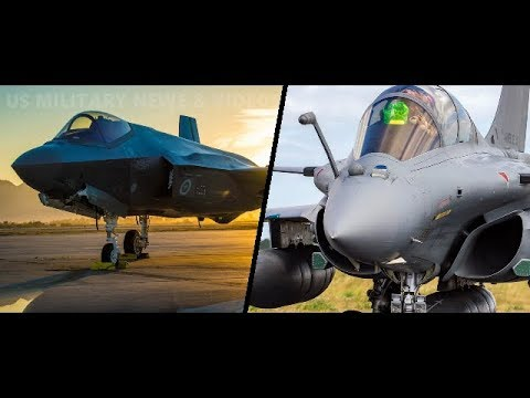 F-35 vs Rafale Comparison | F-35 Fighter Jet – Rafale Aircraft 2018